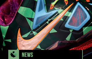 Nike Marks Lebron Jamess MVP Title with the Lebron X MVP Shoe