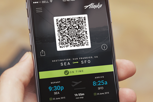 Alaska Airlines App integrated with in-flight Magazine (Concept)